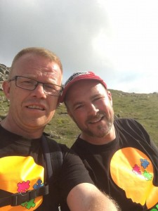 Ian and Stephen Snowdon