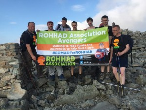 Scaffel pike summit team